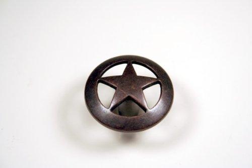Western Star Knob in Oil Rubbed Bronze