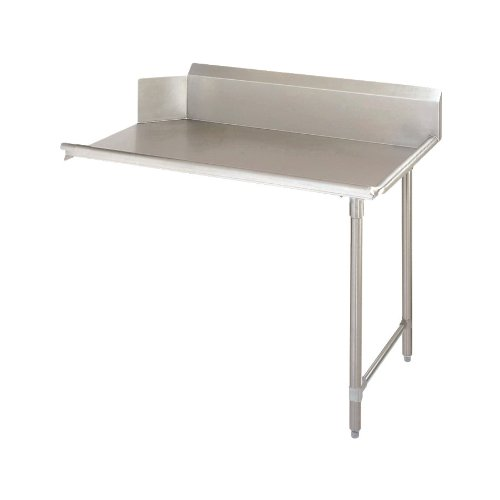 John Boos JDTC-20-36R Stainless Steel Straight Pro-Bowl Clean Dishtable, 36