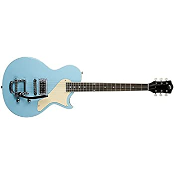 AXL AL 1055 CB USA BelAir Solid Body Electric Guitar Light Blue