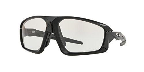 Oakley - Field Jacket - Matte Black - Carbon Frame-Clear-Black Photochromic Lenses
