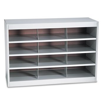 - SAF9254GR - Safco Steel Project Center Organizer