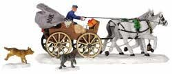 Lemax Village Collection Mail Carriage Set of 3 #43449