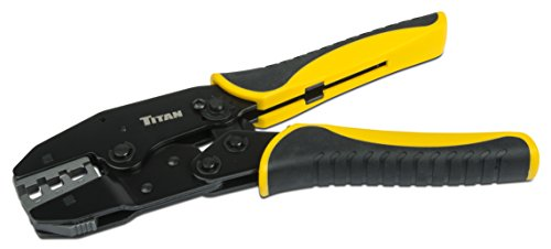 Titan Tools 11955 Ratcheting Heat Shrink Terminal Crimper