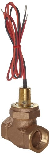 Gems Sensors FS-200 Series Bronze Flow Switch, Inline, Shuttle Type, 0.5 gpm Flow Setting, 1