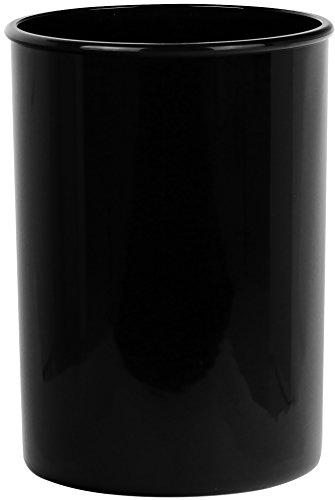 Holder Black Utensil (Calypso Basics by Reston Lloyd Plastic Utensil Holder, Black)