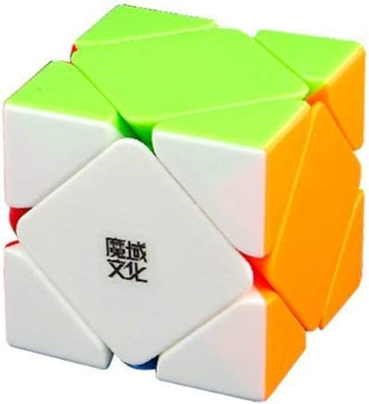 Toy Arena Super Speed Difficult Rubik Cube Stickerless SKEWB Limited Timely Available Grab Them Soon (Magnetic Skewb Cube)