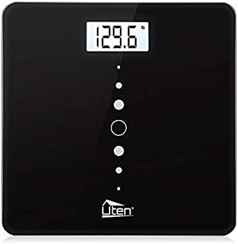 Uten Digital Body Scale with Step-On Technology, Backlight Display
