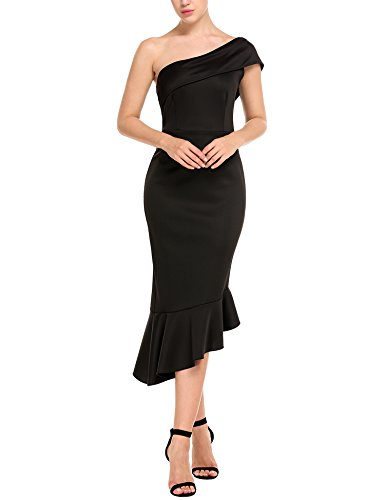 black tail dress - 6