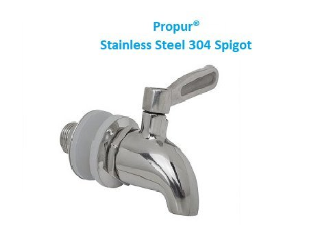 ProPur Stainless Steel 304 Spigot by Propur
