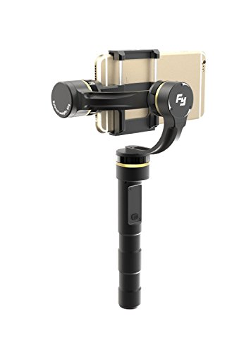 Feiyu Tech FY-G4P+ 3-Axis Handheld Gimbal for Smartphones Including Samsung Note5 and iPhone 6 (Black)