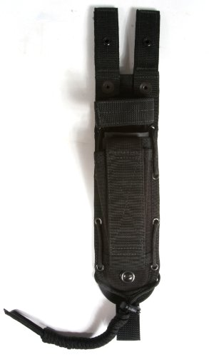 Tactical Sheath - Spec-Ops Brand (100420101) Combat Master Knife Sheath 6-Inch Blade (Black, Short)