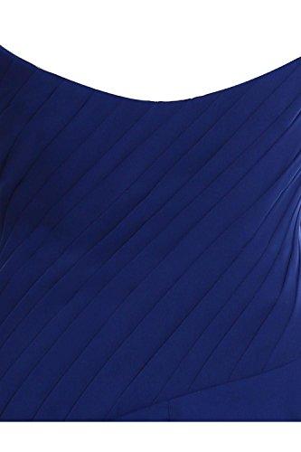 Robe Courte Demoiselle D'honneur En Mousseline De Soie Froncée Chérie Lilas Pour Les Femmes Bess Mariée