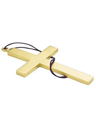 Forum Novelties Party Supplies Unisex-Adults Monk Cross, Beige, Standard, Multi, Multicolor