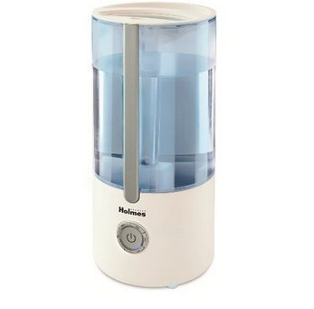 Holmes Ultrasonic Cool Mist Filter Free Humidifier - White by Holmes