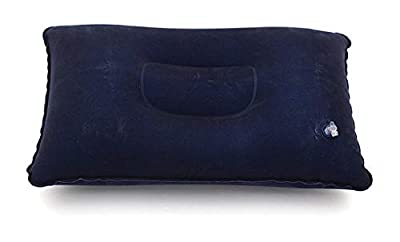 PROGLEAM Outdoor Recreation, New Blue Travel Inflatable Soft Pillow Cushion Protect Neck