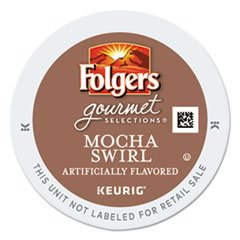 Folgers Mocha Swirl K-cup for Keurig Brewers, 24 Count