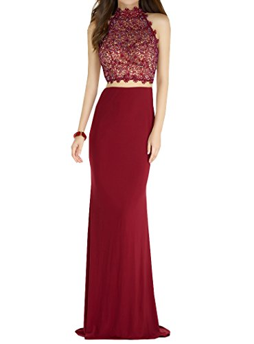 Style10 Sin mangas Special para Vestido Red mujer Bridal YEqqFwZ