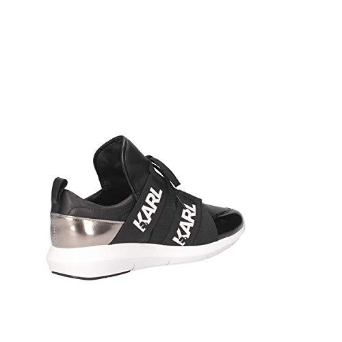 Karl Lagerfeld Vitesse Sneaker Legere Donna Nero YYrq6d
