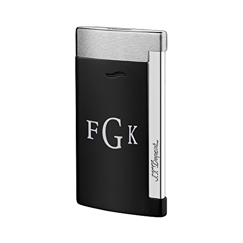 personalized-st-dupont-black-slim-7-lighter-with-free-printing