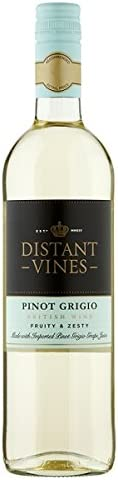 Broadland Wineries – Distant Vines Pinot Grigio British White Wine (6 x 75cl Bottles)