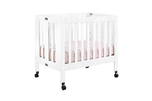 Babyletto Origami Mini Crib, White by babyletto