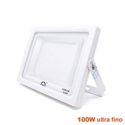 Foco Proyector LED 100w 11000lm ultrafino para iluminación ...