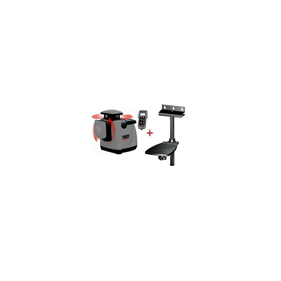 Porter Cable RoboToolz® RT 7690 2XPN High Powered, Interior & Exterior Lasers, Horizontal and Vertical Self Leveling w/ Remote Control & Wall Mount