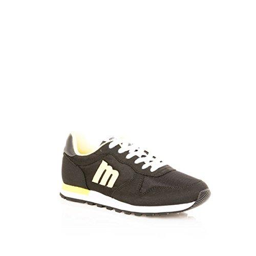 MTNG 83540 RASPE NEGRO / REJILLA NEGRO - Zapatos para hombre RASPE NEGRO / REJILLA NEGRO