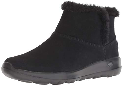 Skechers Women's ON-The-GO Joy 15501 Chukka Boot, Black, 8 M US