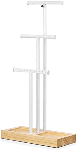 Love KANKEI Jewelry Stand White Metal product image
