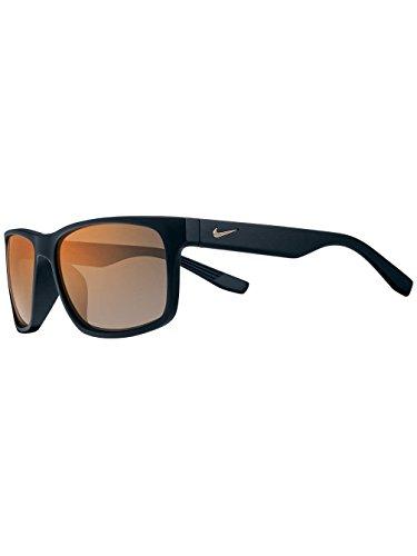 Nike Sonnenbrille (NIKE CRUISER R EV0835) MAT BLK/VLT w/GRY ORG MIRR LNS