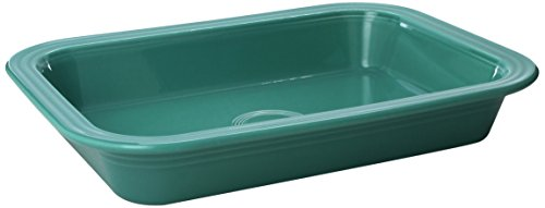 (Fiesta 9-Inch X 13-Inch Rectangle Baker, Turquoise)