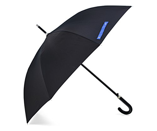 AOG DESIGN Auto Open 100% Fiberglass Stick Umbrella with Stylish J-Hook - 50 Glass Curved