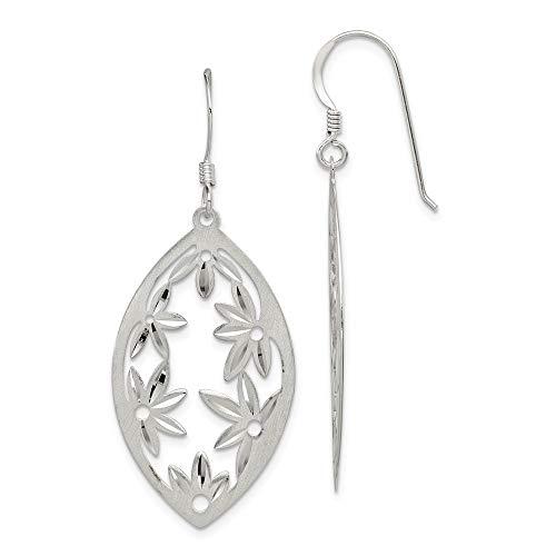 925 Sterling Silver Finish Shepherd Hook Drop Dangle Chandelier Earrings Fine Jewelry Gifts For Women For Her