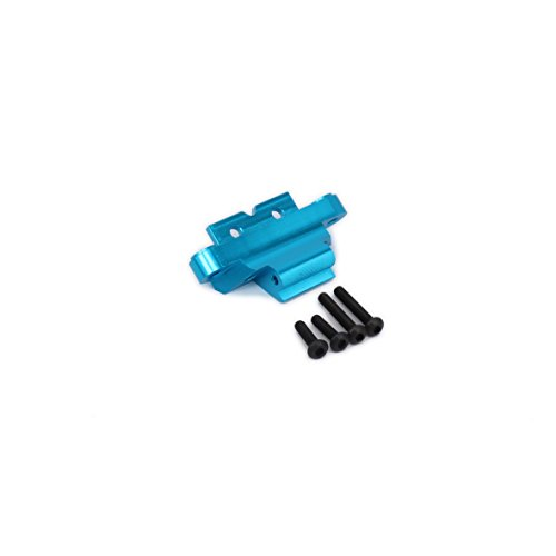 1Pc Aluminum Alloy Front Lower Suspension Control A-Arms Mount Bulk AX31006 for Rc 1/10 Axial Yeti Rock Racer Desert Buggy Off-Road Crawler Upgraded Hop-Up Parts AX90026(Blue)