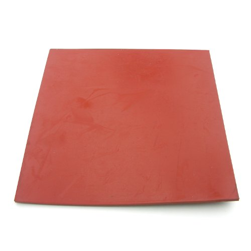 LASCO 02-1050E Rubber Sheet, 6-Inches x 6-Inches and 1/8-Inch Thick