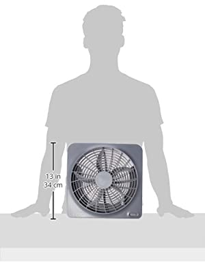 02 Cool 10 inch Battery or Electric Portable Fan from 02 Cool