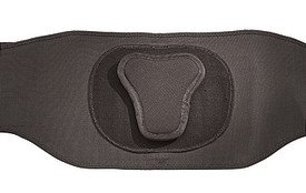 (Mueller Lumbar Back Brace with Removable Pad Regular fits waist sizes 28