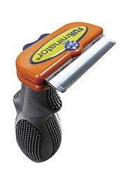 Furminator 811794010867 FURminator Short Hair deShedding Tool for Medium Dogs, My Pet Supplies