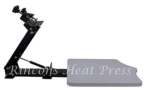 Rincons 1 Color 1 Station Silk Screen Printing Press by Rincons Heat Press