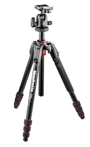 Manfrotto 190go! MS Aluminum Tripod & XPRO Ball Head by Manfrotto (Image #3)