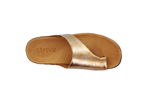 Silver donna Toe Strive Peep Metallic wvztEAxq