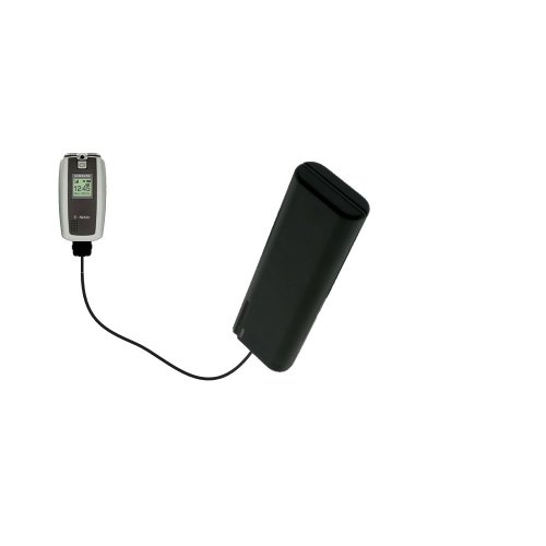 Portable Emergency AA Battery Charger Extender suitable for the Samsung SGH-T719 - with Gomadic Brand TipExchange - T719 Cell Sgh