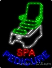 Spa Outdoor Led Sign - 8