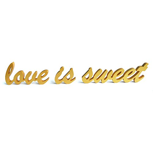 Sweet Wedding Table Decoration Letters product image