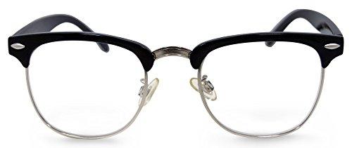In Style Eyes Sellecks Designer Reading Glasses for Both Men & Women/Black/4.00