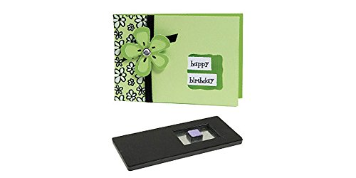Sizzix Movers and Shapers Dies Kit No.3, Card 3, Horizontal Note, Window, Wavy by Sizzix