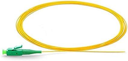 12 Strand 9//125 Fiber Optic Pigtails 1.5m LC//APC Single Mode