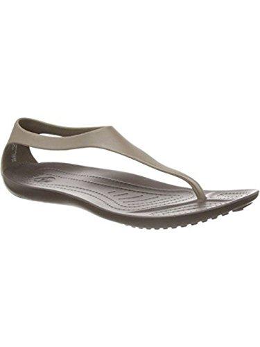 Femme Crocs pour pour Marron Crocs pour pour Femme Marron Femme Crocs Sandales Sandales Marron Sandales Crocs Sandales Xn0q80A1E
