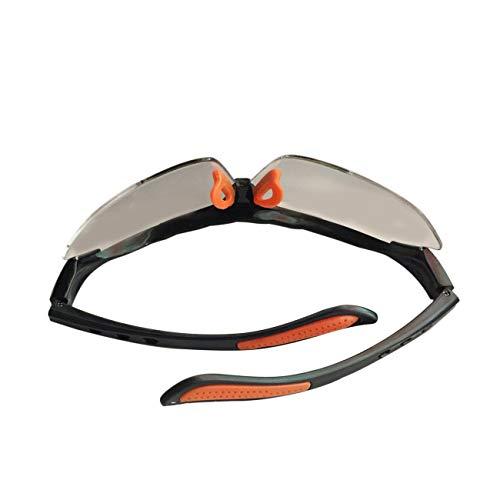fengzong Mode Fietsen Bril Unisex Outdoor Sport Zonnebril UV400 Fiets Sportbril Zonnebril Rijbril (transparant)
